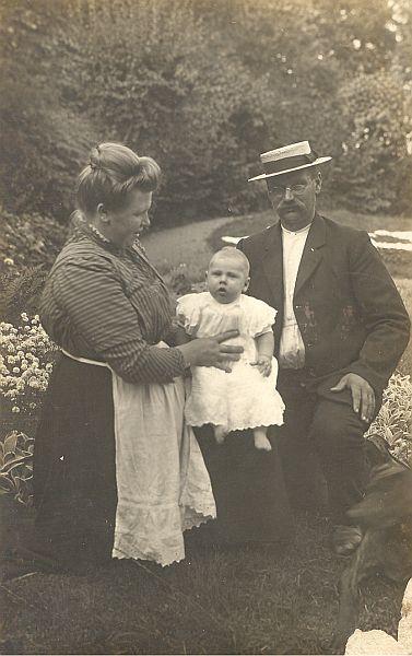 Jan Geert, Anje en kleine Pieter