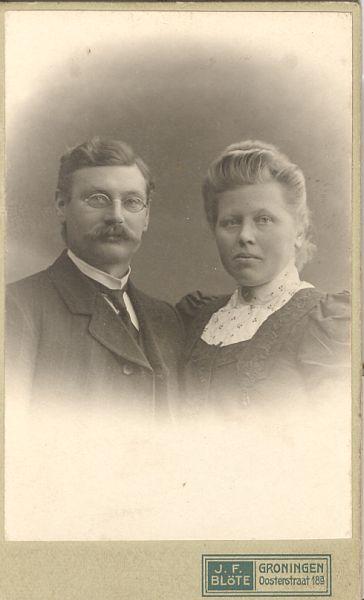 Jan Geert en Anje
